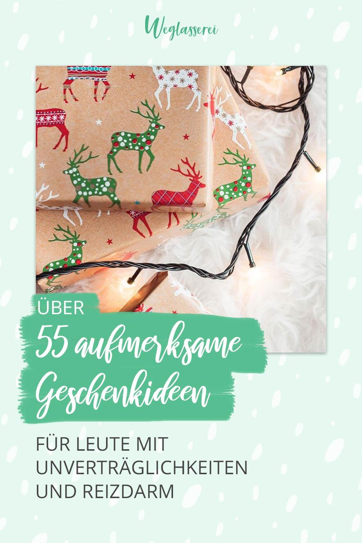 Über 55 aufmerksame Geschenke für Leute mit Unverträglichkeiten - nicht nur für Weihnachten