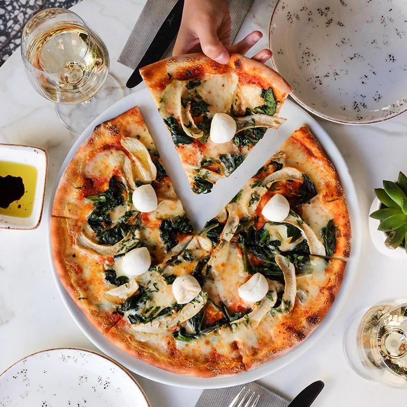 Pizza als Ausnahme darf auch mal sein