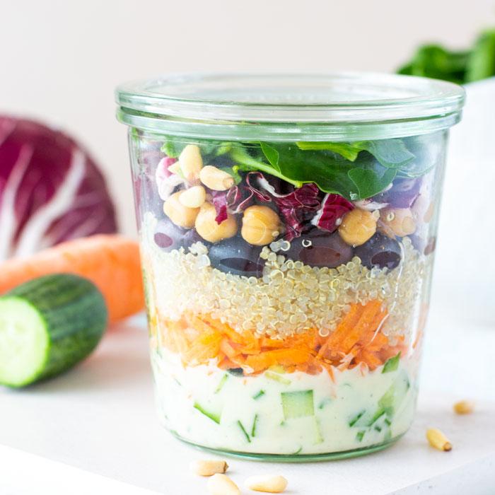 Griechische Quinoa aus dem Weglasserei 4 Wochen Programm