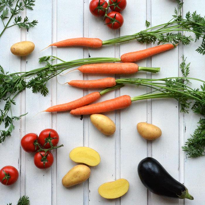 Weglasserei FODMAP-armes Gemüse