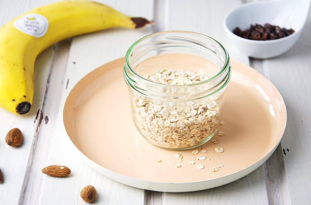 Anleitung für gesundes schnelles Frühstück