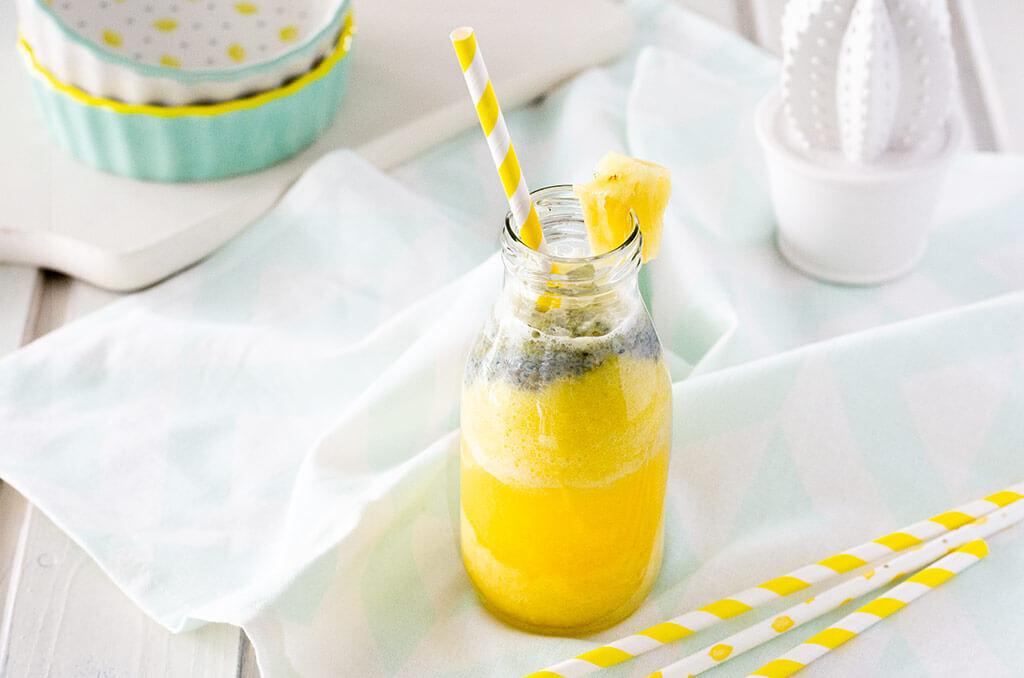 FODMAP-arme Ananas-Limo