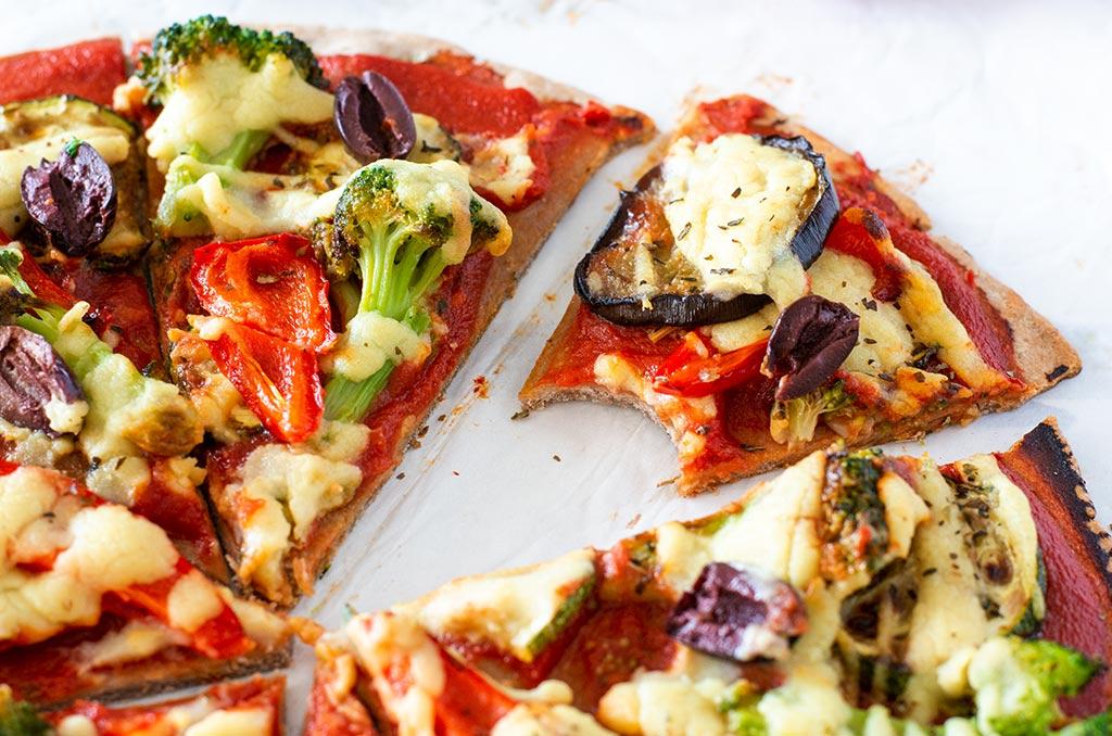 Glutenfreie Buchweizen Pizza