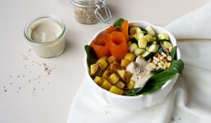 Eine Schale voll gesunder Leckereien – die Buddha Bowl FODMAP-arm