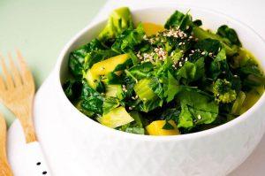 Laktosefreies und veganes Grünes Curry