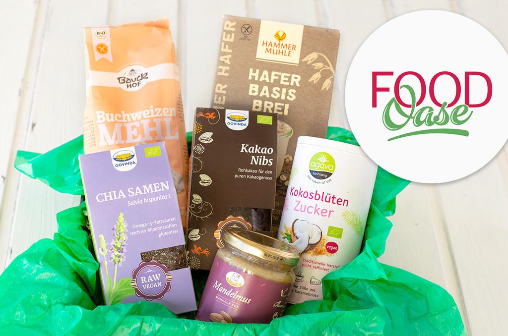 Produkte aus dem FoodOase Online Shop