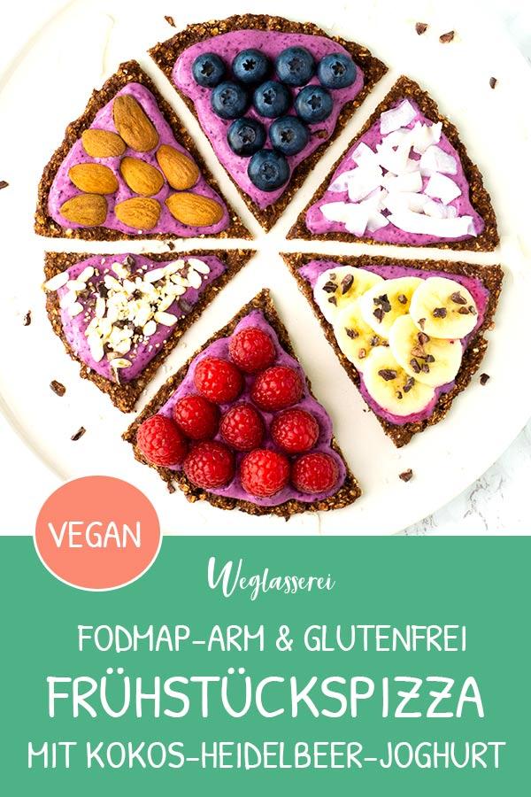 Wie wäre es mit Pizza zum Frühstück? Gesund und lecker! Noch mehr FODMAP-arme Rezepte auf Deutsch findest du auf meinem Blog. Sowie Motivation, um deine Nahrungsmittelunverträglichkeit oder Reizdarm in den Griff zu bekommen. #gesunderezepte #glutenfrei #laktosefrei #fructosearm #nahrungsmittelunvertraeglichkeit #reizdarm #fodmap #frühstückspizza #gesunderezepte