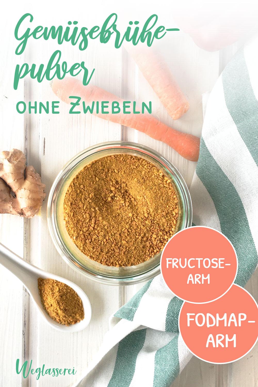 Gemüsebrühe Pulver ohne Zwiebeln, Zucker und Zusatzstoffe. Selbst gemacht und lecker. Noch mehr FODMAP-arme #rezepte auf Deutsch findest du auf meinem Blog. Sowie Motivation, um deine #nahrungsmittelunverträglichkeit oder #reizdarm in den Griff zu bekommen. #gesunderezepte #glutenfrei #laktosefrei #fructosearm #lebensmittelunvertraeglichkeit #fodmap #fodmapdiät #fodmaparm #gemüsebrühe #gemüsebrühepulver #gesund #vegan