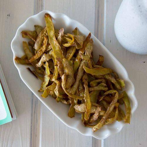 Weglasserei glutenfreie und FODMAP-arme Chips als Snack
