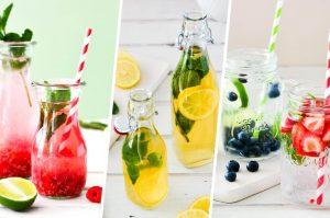 3 erfrischende und verträgliche Getränke für den Sommer