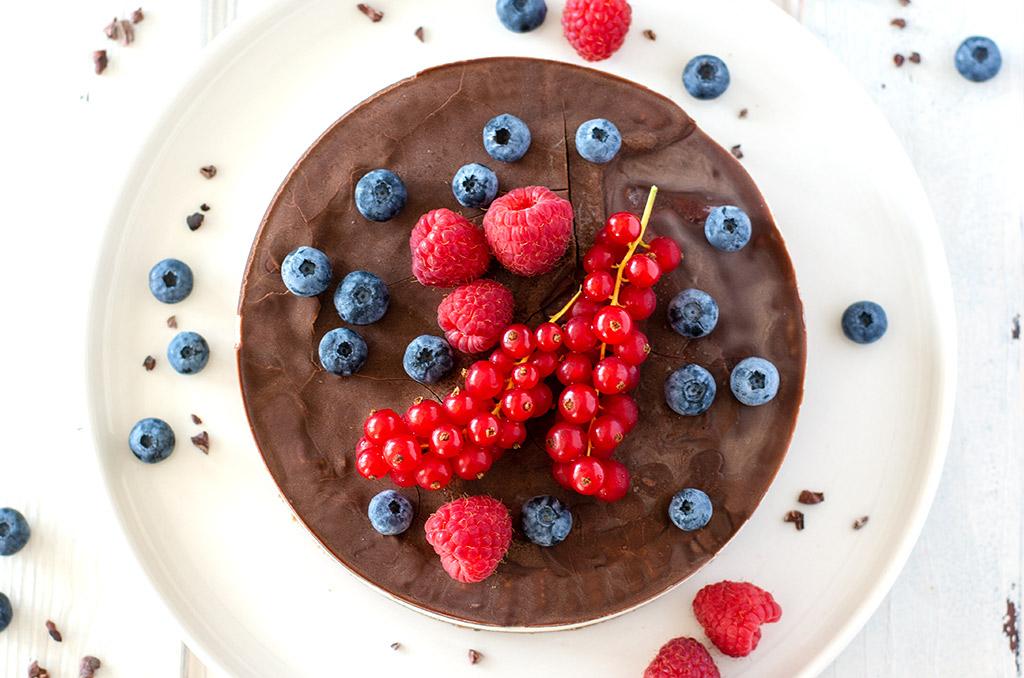 FODMAP-armer und glutenfreier Kuchen ohne Backen