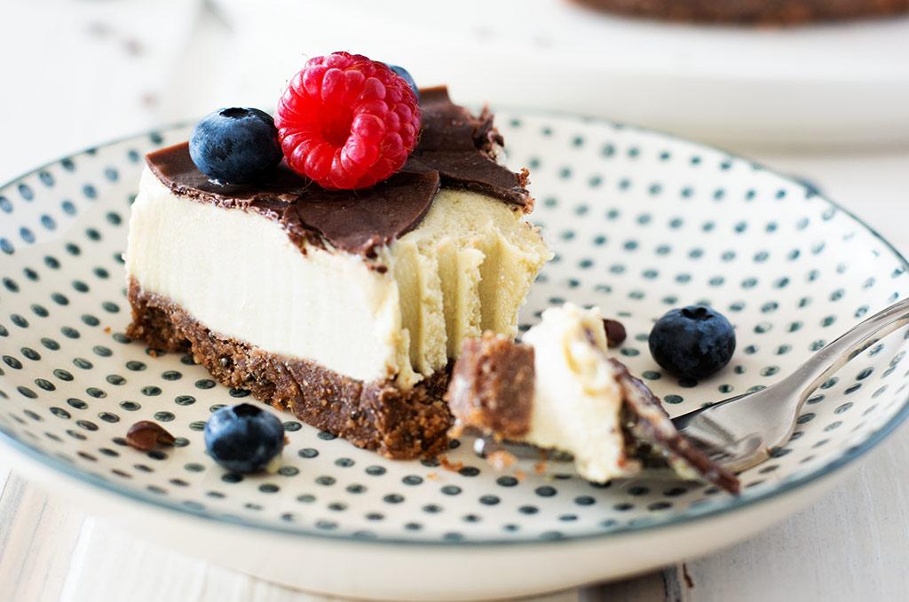 Glutenfreier Kuchen ohne Backen mit Zucchini