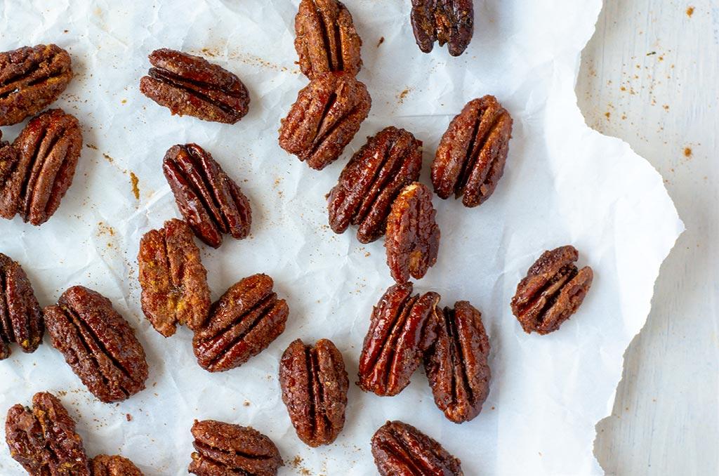 Karamellisierte Nüsse wie vom Weihnachtsmarkt