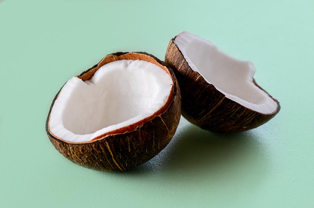 Kokosnuss Warenkunde in der Weglasserei