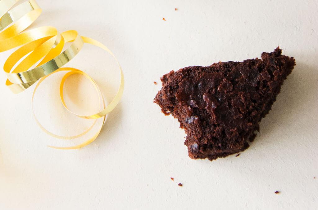 FODMAP-armer Lebkuchen Brownie