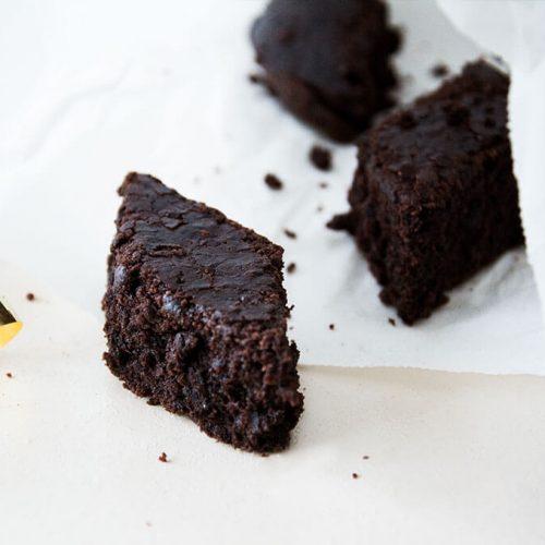 FODMAP-arme Lebkuchen Brownies für Weihnachten