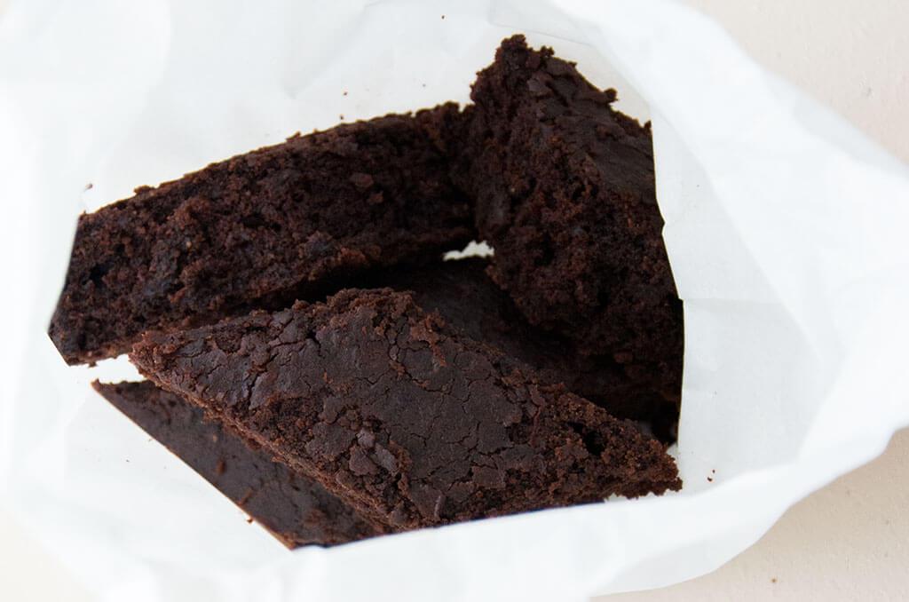 Saftige Lebkuchen Brownies als Geschenk