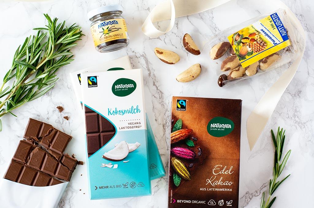 Glutenfreie Weihnachtsplätzchen mit Naturata Produkten