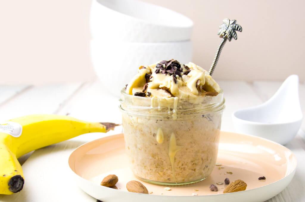 Gesundes schnelles Frühstück für die FODMAP-Diät