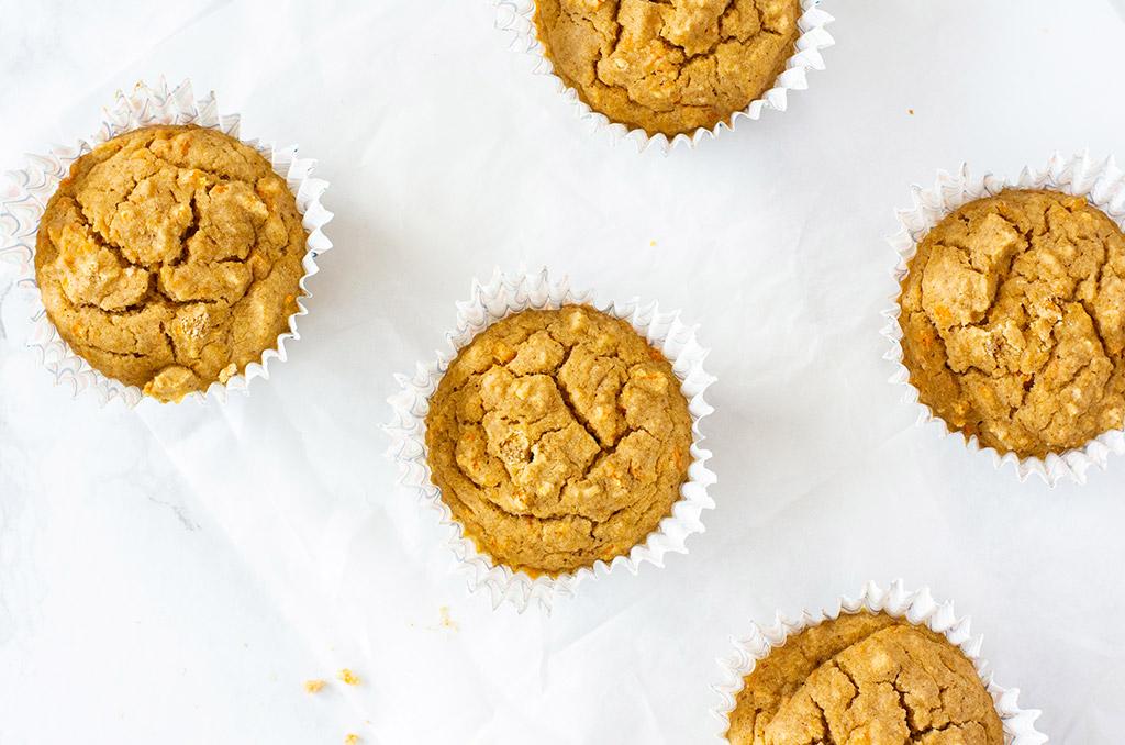 Karotten Muffins glutenfrei für Ostern
