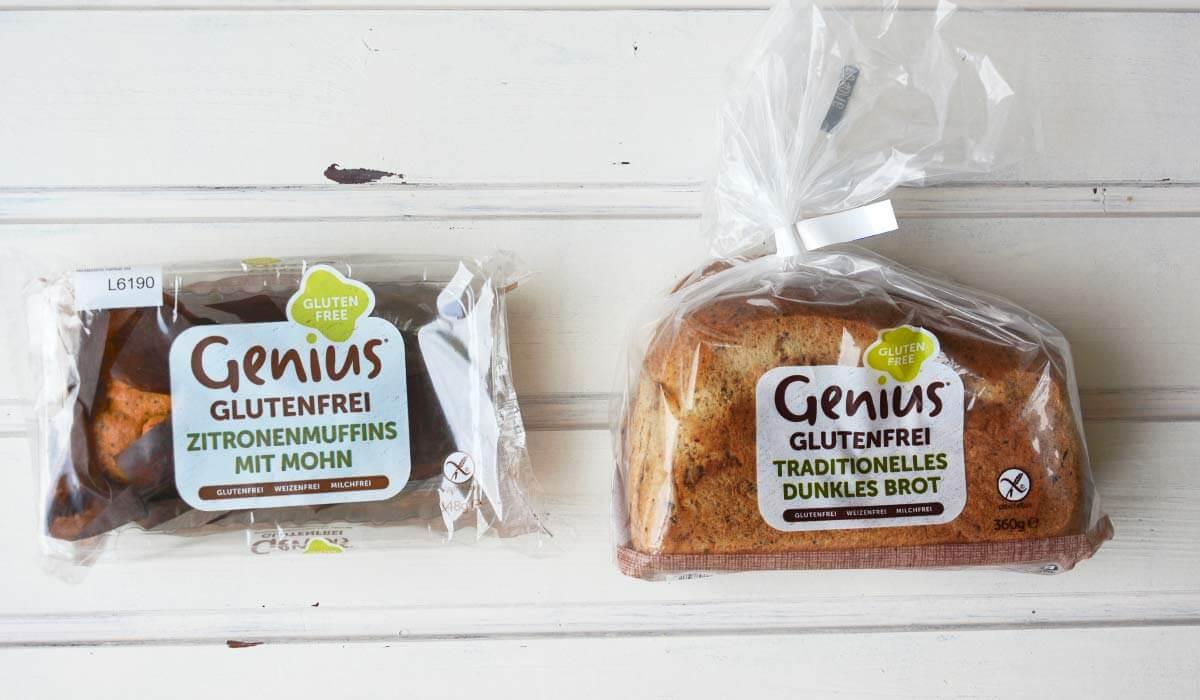 Genius glutenfrei Brot Kuchen