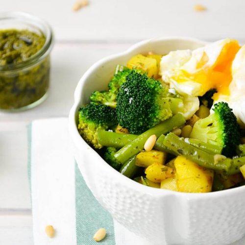 FODMAP-armes Gemüse mit Ei
