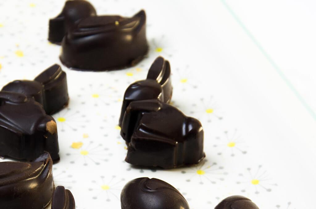 Glutenfreie Schokolade ist ideal für eine Nahrungsmittelunverträglichkeit