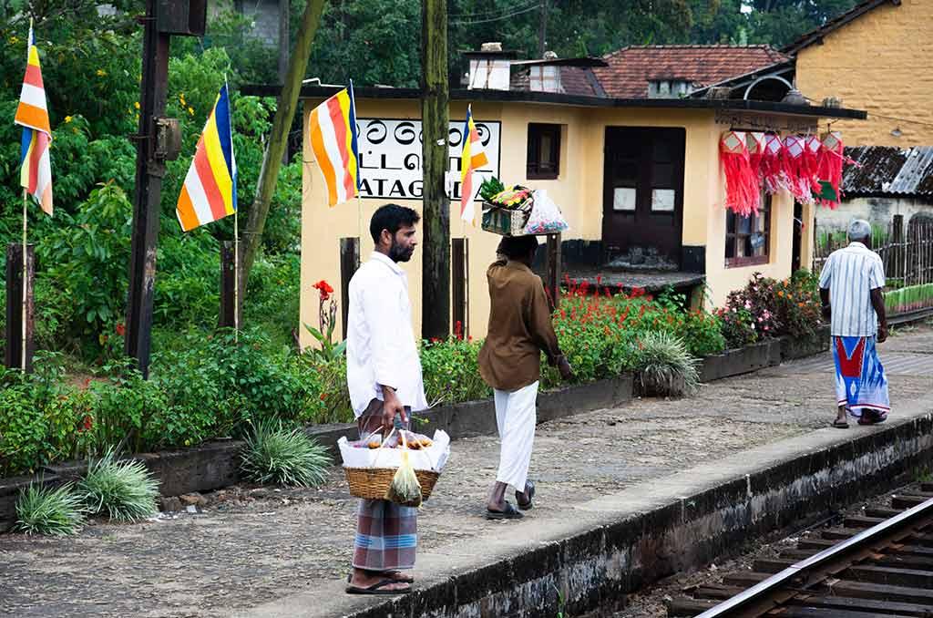 Verkäufer in Sri Lanka